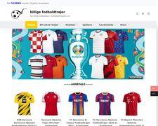 Kobfodboldtrojerdk.com