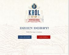 Krol-vodka.com