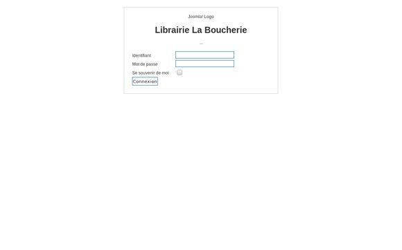 Librairie La Boucherie