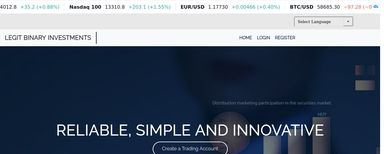 Legit Binary Investments