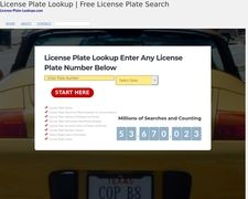 License Plate Lookups