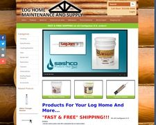 Log Home Maintenance And Supply Products For Sale