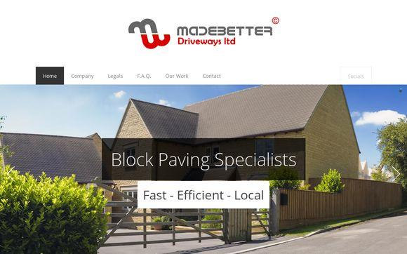 MadeBetterDrivewaysLTD.co.uk