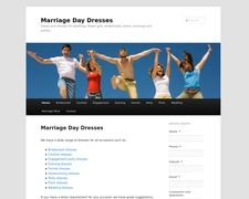Marriage Day Dresses