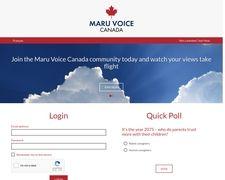 Maru Voice Canada