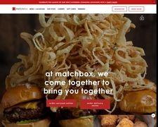 Matchboxrestaurants.com