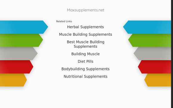 Max Supplements