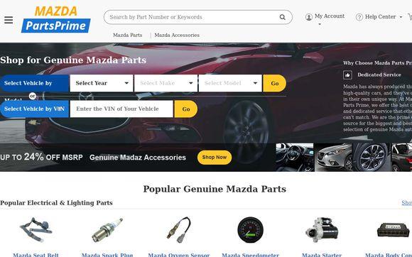 Mazda Parts Prime