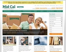 Mid Cal Moving And Storage, Agents For Bekins