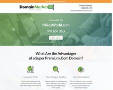MikesWorld.com Is Available At DomainMarket.com