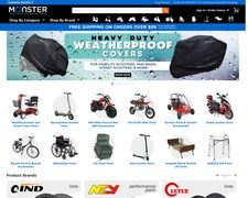 Monster Scooter Parts
