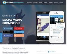MySocialFollowing.com