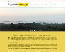 Mysore to Coorg Cab