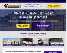 Neighborhoodgaragedoorservices.com
