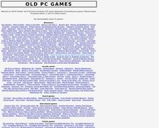 Old PC Games