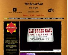 Ole Brass Rail