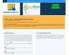 Online Data Entry Job
