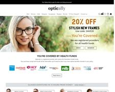 Optically