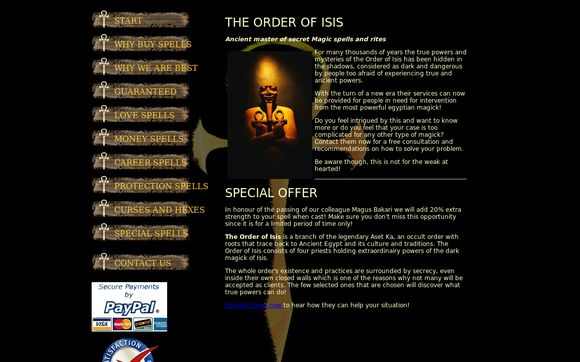The Order of Isis