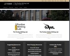 The Purdue Writing Lab