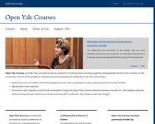 Open Yale Courses