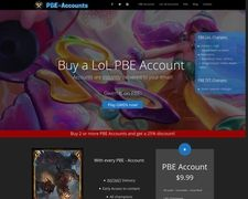 Buy League Of Legends PBE Account