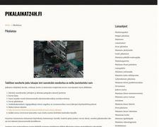 Pikalainat24h.fi