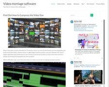 Video Montage Software