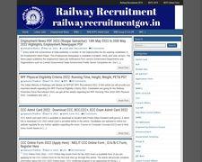 Railway Recruitment Information Portal