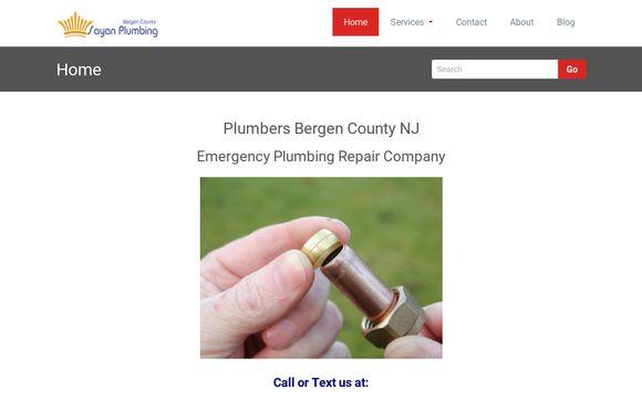Plumbers Bergen County NJ