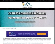 Sell Overseas Property Fast Online 4 Cash