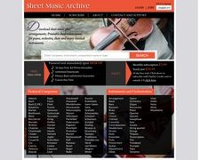 Sheet Music Archive