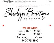 Shirley's Boutique