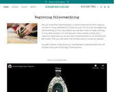 Silversmithing Class