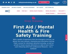 SirenTraining.co.uk