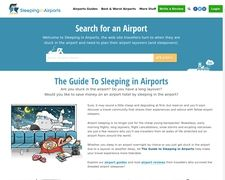 Sleeping in Airports.net