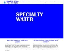 Specialty Water