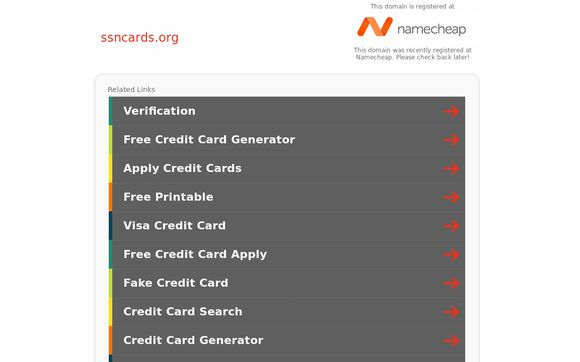 Ssncards.org