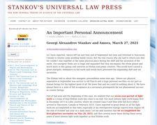 Stankov's Universal Law Press