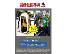 Tailgating Portapotty
