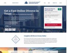 Texas Online Divorce