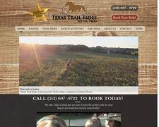 Texas Trail Rides I Austin, TX I Www.texastrailrides.com