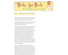 The Broke-Ass Bride