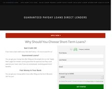 The Guaranteed Loans!