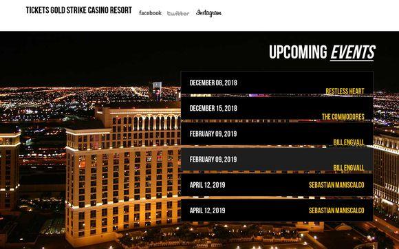 Gold Strike Casino Resort Tickets