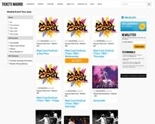 Madrid Ticket Broker, Madrid Concerts, Sports, Events And Theater Tickets
