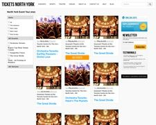 North York Ticket Broker, North York Concerts, Sports, Events And Theater Tickets