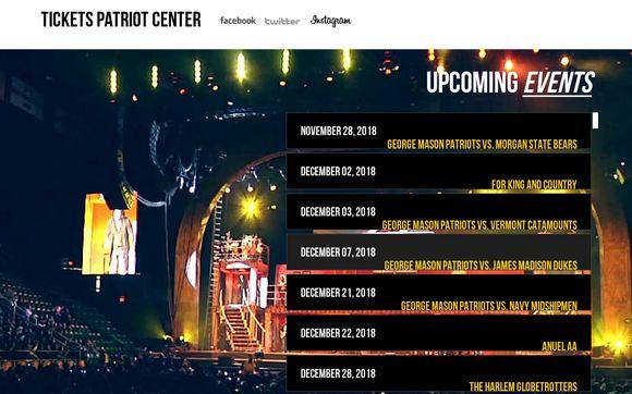 Ticketspatriotcenter.com