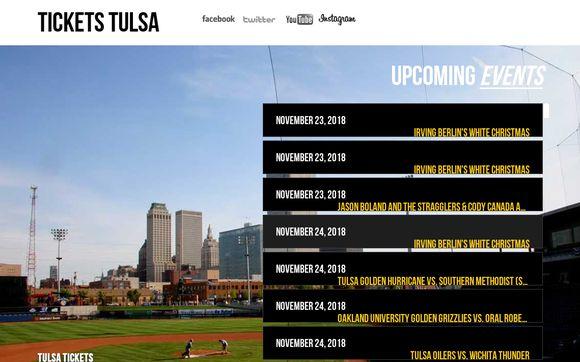 Tulsa Tickets