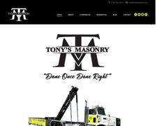 Tony's Masonry